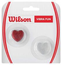 WILSON VIBRA FUN cuori GLITTER tennis racquet stringa dampener AMMORTIZZATORE