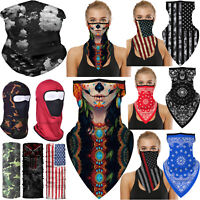 3D Neck Warmer Gaiter Face Scarfs Cover Balaclava Headwear Cycling Hiking