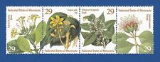 Micronesia (#195) 1994 Flowers MNH strip