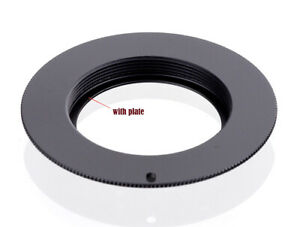 M42 Lens to Canon EOS FLANGED Adapter For Canon Camera EF Mount - UK SELLER