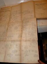 Gaspar Amico: Vita di NICCOLO' MACHIAVELLI 1875 grande tavola genealogica RARO