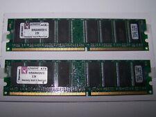 4GB KIT4X 1GB PC2700 DDR 333 Mhz Low density memory 2Rx8  DIMM DDR1 RAM INTEL
