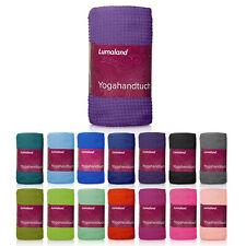 Lumaland Yoga Handtuch Antirutsch Noppen Fitness Tuch 60x180 Yogamatte Unterlage