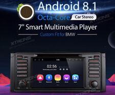 AUTORADIO BMW E39 NAVIGATORE GPS ANDROID 8.1 WIFI 4G 8CORE 2GB XTRONS PR7839B