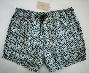 🆕️ Authentic BRIONI Printed SWIM Shorts Trunks Swimwear XXL/2XL