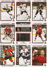 2012-13 Panini Score Ottawa Senators Complete Team Set (19)