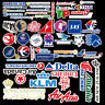 55 Pcs Airlines LOGO Sticker Skateboard Luggage Laptop Phone Car Bike Decal