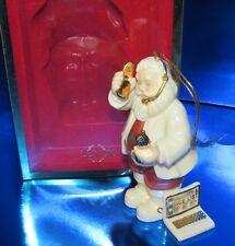 LENOX santa.com TECHY SANTA Christmas Ornament 6141527 NEW in BOX (1ZKW)