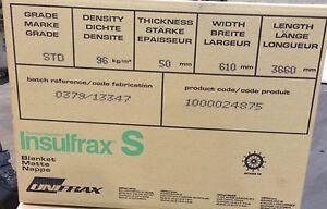 CERAMIC FIBRE BLANKET ALTERNATIVE  BLANKET BODY SOLUBLE 50x96kg/m3 (71539)