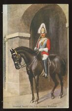 Military 1st LIFEGUARDS Mounted Sentry Whitehall PPC