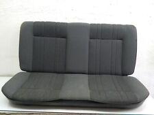 VW Golf 2 II MK2 19E Sitzbank Rücksitz Stoff Grau BW Rückbank Sitz hinten 228070