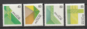 New Zealand: 1987 Visual Arts-Fibre set of 4 stamps. L/Jury 813-816. MUH.Cheap