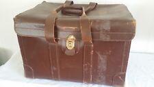 Vintage Large Pilots? WW2 Leather Navigation Map Case Briefcase B7977 TYPE MC-1