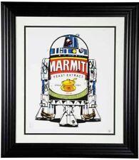 JJ ADAMS 76/77 Marmite R2D2 COLLECTORS LOT PRINT FRAMED LIMITED EDITION
