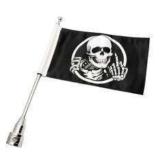 Motorrad Flagge Fahnenstange Flaggenhalter Universal Flag Pole Dekoration FC