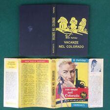 Brett HALLIDAY - VACANZE NEL COLORADO Garzanti Serie Gialla/111 (1957) Libro