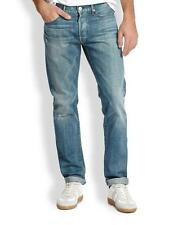 3x1 M3 Selvage Men's Slim Straight Jeans in Houston MADE IN USA $365 NEW 34x34