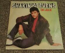 """Shakin' Stevens Oh Julie 7"""" vinyl single 1981"""