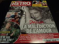"""RETRO N°10"" Dalida Sheila Gerard LENORMAN Brigitte BARDOT Jean-Michel JARRE"