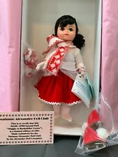 Madame Alexander Doll Club 'Maggie Visit Rockefeller Center' NIB LE