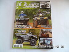 QUAD PASSION MAGAZINE N°161 11/2013 GRIZZLY 700 WTHC KINGQUAD 750 AXI   I76