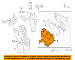 NISSAN OEM 13-15 Sentra Air Cleaner Box-Bottom Lower Housing Body 165283RC2A