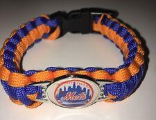 NEW YORK METS  SURVIVAL PARACORD CHARM BRACELET MLB NOAH SYNDERGAARD