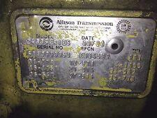 ALLISON 2400 TRANSMISSION 2001 FREIGHTLINER 6310030053