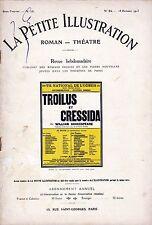 Revue TROILUS ET CRESSIDA Shakespeare Sylvie Desjardins Grétillat Desfontaines