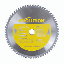 """Evolution Saw Blades For Stainless Steel - 10"""" Circular Saw Blade"""