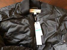 Calvin Klein Jeans Men's Aviator Bomber Puffer Jacket, XL, Model: 41F2528
