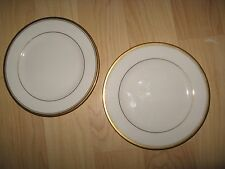 Noritake Linton Plates - Vintage Japan #7552 Ivory China Bread Plate Set (2)