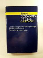 Il nuovo Dizionario inglese Garzanti 1985