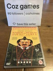 Topsy Turvy DVD 1999 British Mike Leigh Gilbert & Sullivan Theatre Region 2