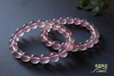 Natural Star Rose Quartz Crystal Round Beads Bracelet 8mm AAA
