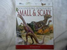 DISCOVERING DINOSAURS SMALL & SCARY EDUCATIONAL BOOK - BRAND NEW