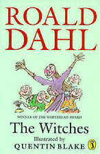 The Witches by Roald Dahl Winner of Whitbread Award Illustrated Quentin Blake