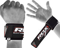 RDX Wrist Brace Grip Support Gym Gloves Straps Weight Lifting Wrap Bodybuilding