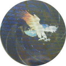 100 Valid EAGLE Security Protection Hologram Label Tamper Evident Sticker Seal
