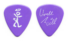 David Letterman Late Show Uncle Will Lee Signature Purple Guitar Pick - 1989