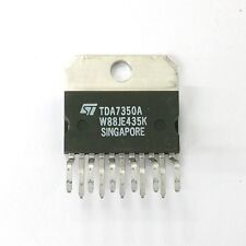 NEW ST Microelectronics TDA7350A 22W Bridge Stereo Amplifier IC ~ 11 Pin SIP
