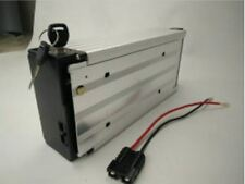 24V 30ah Li-ion Rechargeable Ebike Battery W/ Rear Rack Case & Charger