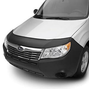 OEM 2009-2013 Subaru Forester Front Full Nose Cover Bra Black Vinyl M001SSC100