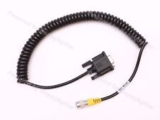 Male 6pin Hirose to DB9 COM Data Cable Coiled for SOKKIA,TOPCON Total Stations
