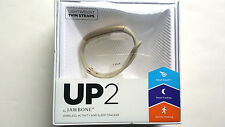 Jawbone UP2 Activity + Sleep & Food Tracker Lightweight Thin Straps Oat Spectrum