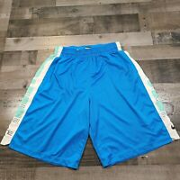 Nike Dri Fit Mens Adult Extra Large Basketball Elite Shorts Blue White Athletic