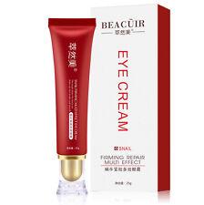 BEACUIR Eye Cream Bags Dark Circles Under Eyes Rough Dry Skin Snail Extract 25g