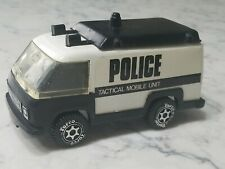 Vintage 1980 Torco Police Van Tactical Mobile Unit Green Grass Manufacturing