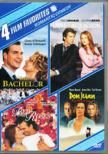 4 FILM FAVORITES ~ ROMANTIC COMEDY (Don Juan, The Bachelor, Bed of Roses, Laws o