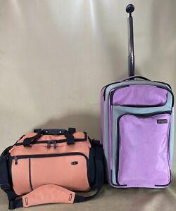 "Victorinox Carry On Luggage Set 22"" Suitcase & Werks Traveler 18"" Duffel Bag"
